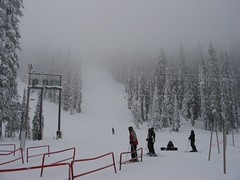 Big White in the clouds (melissaks) Tags: skiing bigwhite