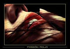 Pasion roja (Fernando Rey) Tags: red rojo lips labios soe grouptripod