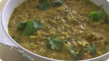Moong dal curry 2