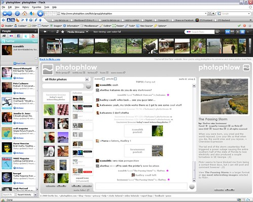 Photophlow - Commenting to Photo