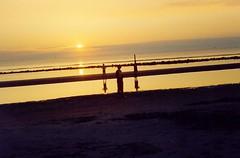 Ameland (marcellucray) Tags: sunset holland silhouette nederland noordzee ameland