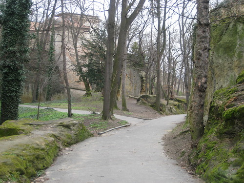 Path in Kinsky Garden