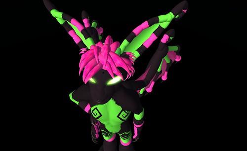 pink black game green make video neon personal avatar badass bat scene watermelon kings fluorescent secondlife brand dazzle bu branding watermelons torley dayglow sylver watermelonman slbuzz personalbrand rezzable
