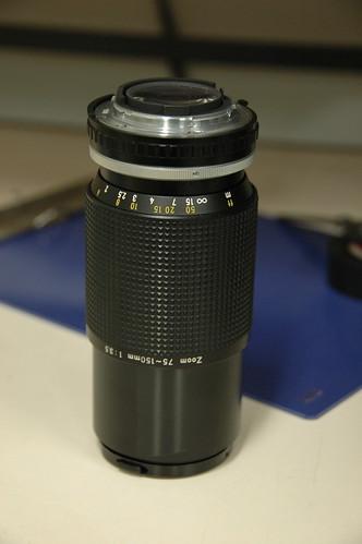 75-150mm f 3.5 series E