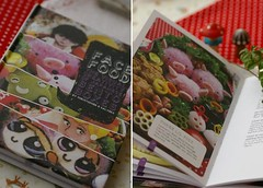 The book has come!! (luckysundae) Tags: bento obento facefood charaben