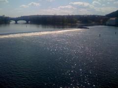 Vltava River, Prague (Malá Strana, Hlavní Mesto Praha, Czech Republic) Photo