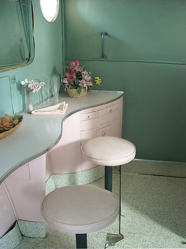 photo - Ladies Dressing Room on a Flying Boat,house, interior, interior design
