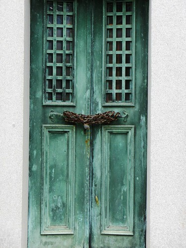 Green-Wood Door
