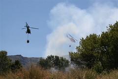 Fuego en Palomares de Béjar