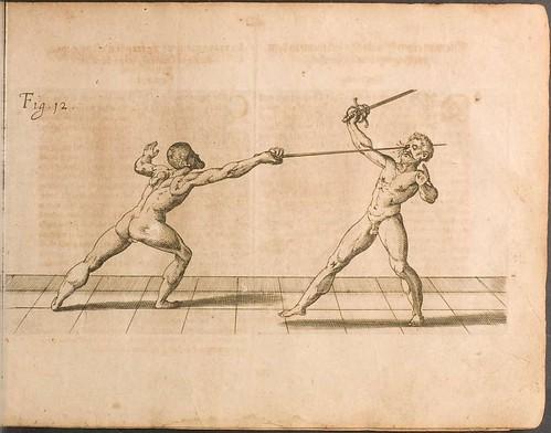 Fecht-kunst - Nicoletto Giganti, 1622 a