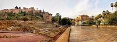 PANORAMA 741 (anyera2015) Tags: málaga canon canon70d panorama panorámica teatro romano teatroromano alcazaba hdr qualitystructuresppf