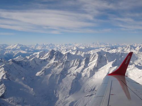 Unterwegs über den Berner Alpen