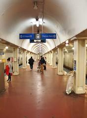 LaSalle Blue Line Station (Brule Laker) Tags: chicago illinois cta subway blueline
