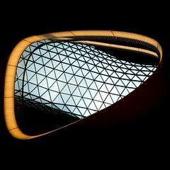 """futuristic"" (helmet13) Tags: architecture raw pov frankfurt shoppingmall abstraction studies aoi bellissima 100faves d80 peaceaward heartaward world100f phvalue ministract myzeil platinumpeaceaward peacewinnerscircle"
