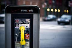 (morgan.laforge) Tags: city urban yellow boston booth phone stuffmagazine
