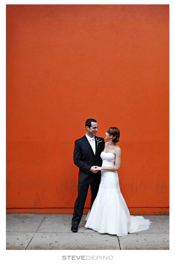 Barcelona wine bar wedding