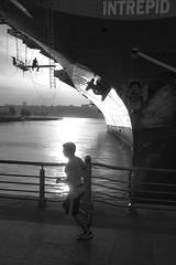 (Barry Yanowitz) Tags: nyc newyorkcity blackandwhite bw ny newyork blackwhite flickr manhattan midtown rivers intrepid hudsonriver gothamist westside nycity hudsonrivergreenway intrepidseaairandspacemuseum leicasummicron35mmf20 leicam9