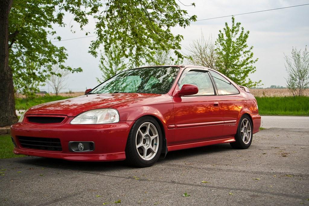 For Sale 1999 Milano Red Em1 Civic Si Honda Tech Honda Forum