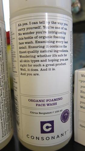 Consonant Face Wash Citrus Bergamot