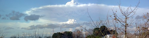 Despertar del Puyehue desde Osorno by navirelover