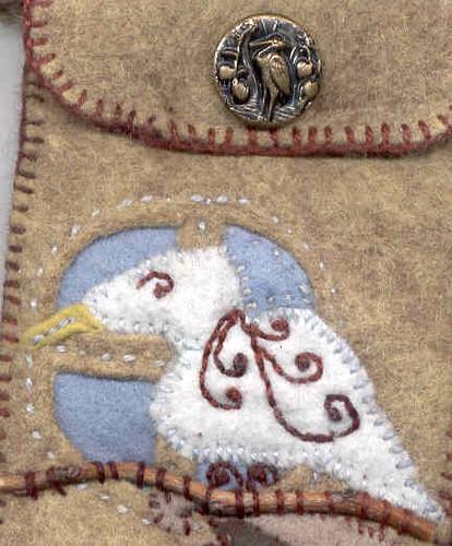Amulet Bag detail
