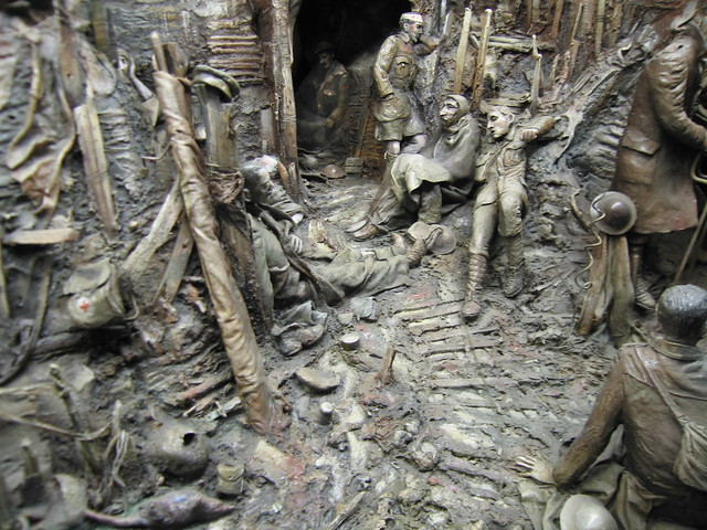 World War I Trench Model