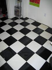 mon dégueulasse plancher de chambre