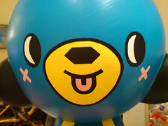 who could this be? (TADO DEATH BRIGADE) Tags: kidrobot 20 custom tado munny megamunny