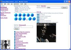 Sonos web UI