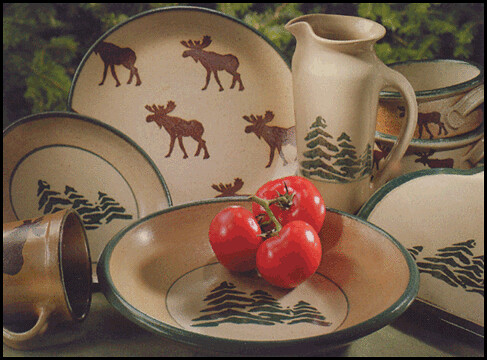 Moose Dinnerware