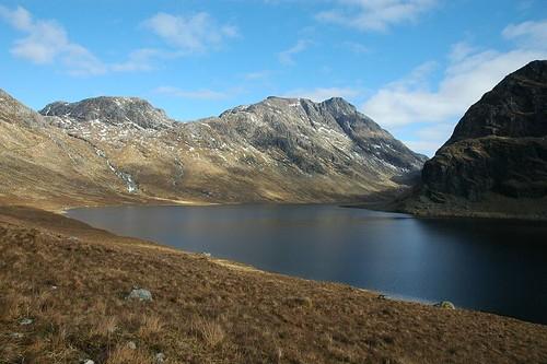 A' Mhaighdean across Dubh Loch