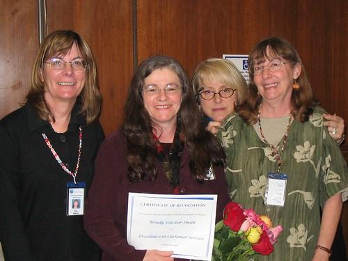 Wendy's Customer Service Award