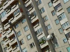 Socialist (sub-)Urbanism (vasilken) Tags: architecture concrete sofia suburbia bulgaria apartmentbuilding socialism housingprojects bulgarianseasons bulgarianlifestyle