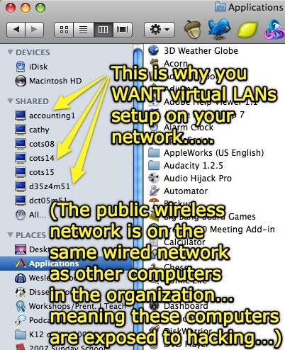 Why you want a virtual LAN