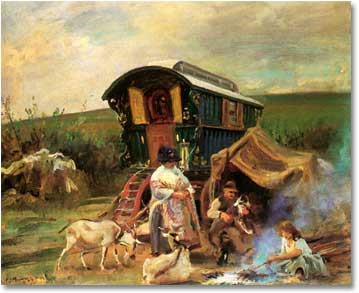 Gypsy Vardo Art
