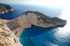 The best beach of Greece (Guido_62) Tags: sea beach landscape mare greece grecia spiaggia paesaggio relitto navagio wreek top20travelpix