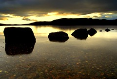 Bonnie Banks of Loch Lomond (Nicolas Valentin) Tags: autumn lake nature water scotland still scenery loch lochlomond themoulinrouge mywinners abigfave aplusphoto