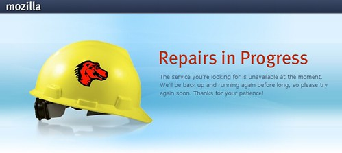 Server di Mozilla down
