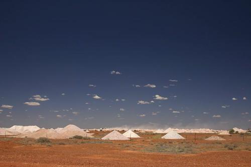 Mining area near Cooper Pedy...
