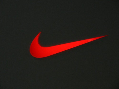 red swoosh