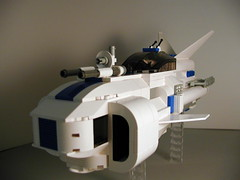 """13_left_closeup (""""Big Daddy"""" Nelson) Tags: fighter pcs lego space"""