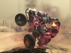 rocket wheelies (shawn peps) Tags: game race video halo xbox 360 rocket console sandtrap chen cgi doubles deathmatch halo3 rockrollallnight
