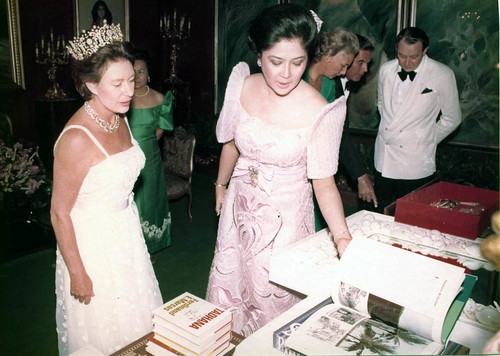 Her Royal Highness The Princess Margaret, Countess of Snowdon with ...