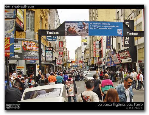rua Santa Ifigênia, São Paulo