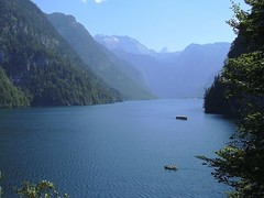 Knigssee (Heidi Dressendoerfer) Tags: sea mountains alps water germany bayern deutschland bavaria berchtesgaden europe gebirge knigssee bayerischealpen lakeknigssee top20bavaria top20bayern