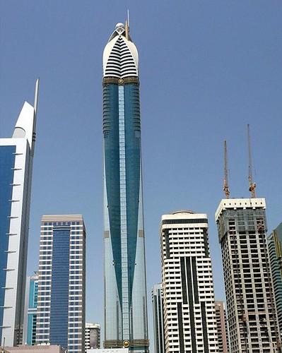 dubai towers dubai. Rose Rotana Tower Dubai