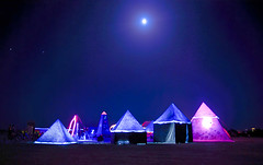 pyramids (lissajous) Tags: man night burningman burning 2007 k10d