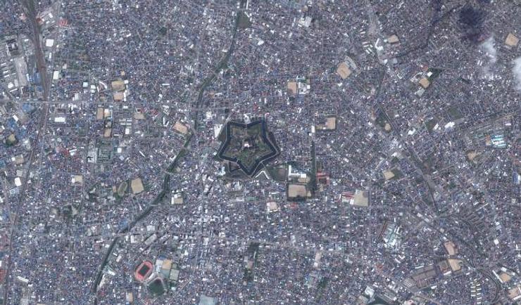 Ciudades con forma de estrella