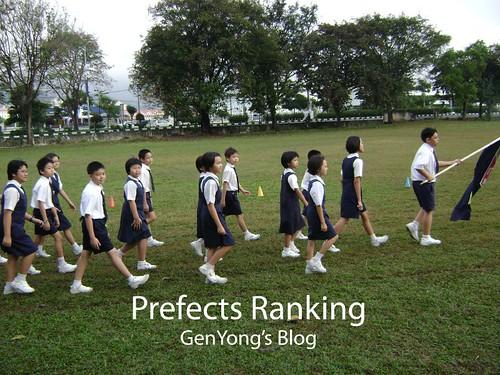 Prefects Ranking