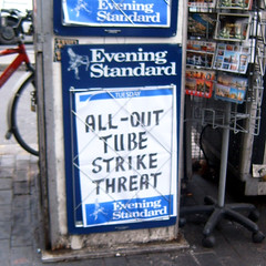 Tube Strike Threat